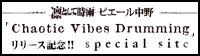 凛として時雨 ピエール中野「Chaotic Vibes Drumming」